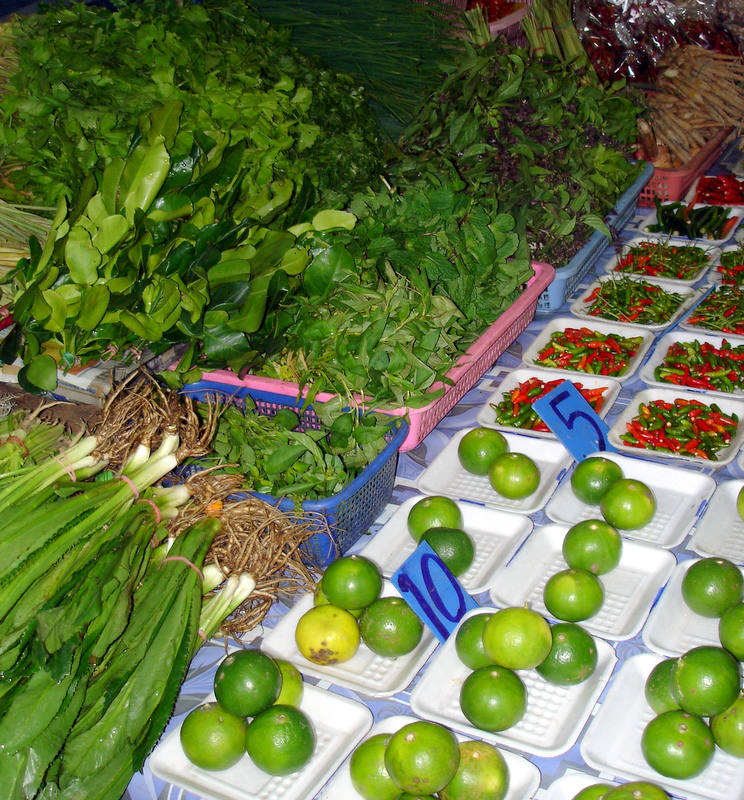Ingredients on offer in Chiang Mai, Thailand