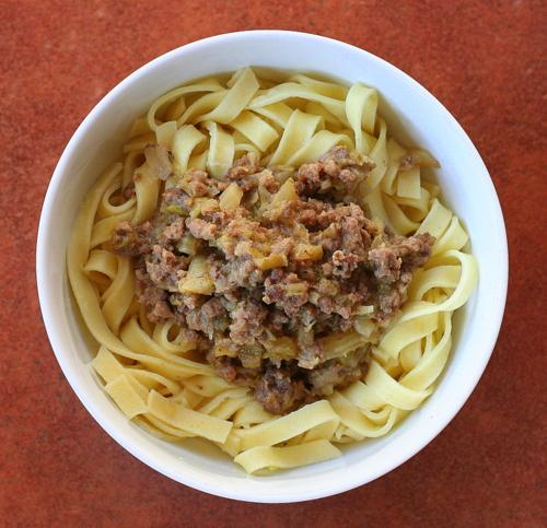 White Bolognese Sauce