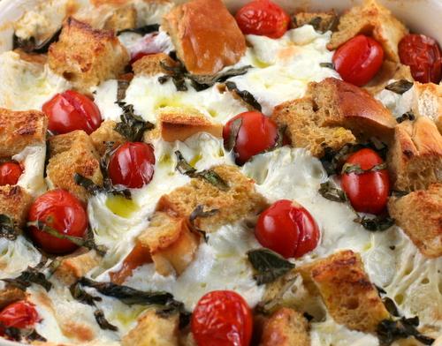 Panzanella Bake