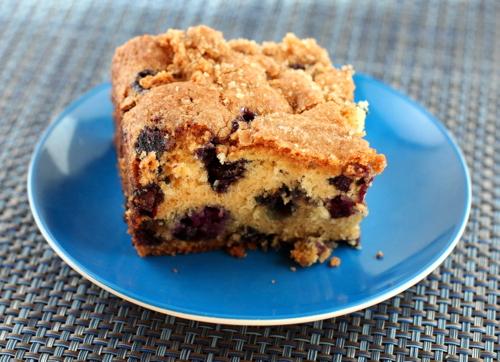 Blueberry Vanilla Buttermilk Cake