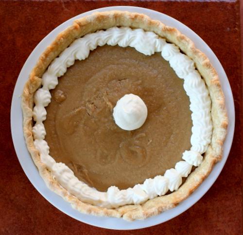 Simple Butterscotch Pie