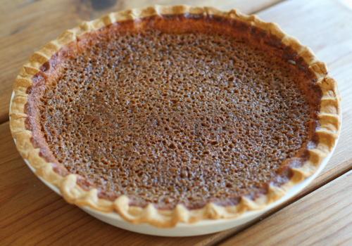 Sorghum Buttermilk Pie