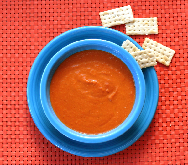 Simple Slow Cooker Tomato Soup
