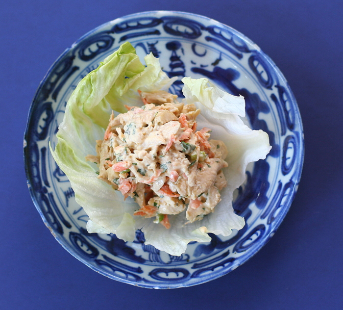 Asian Inspired Chicken Salad with Sesame Mayonnaise