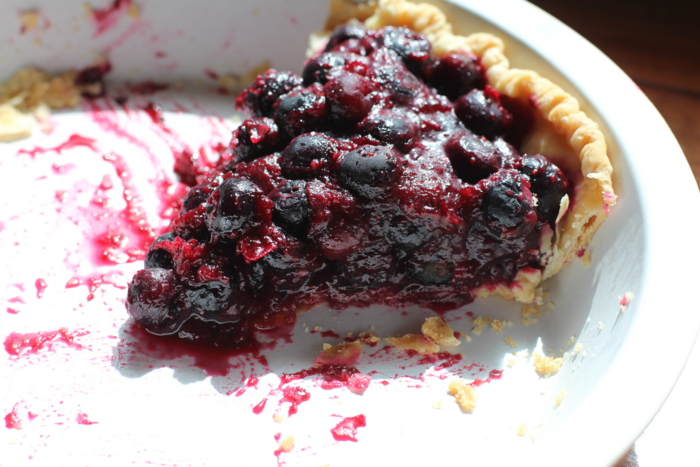 Seriously Fresh Blueberry Pie