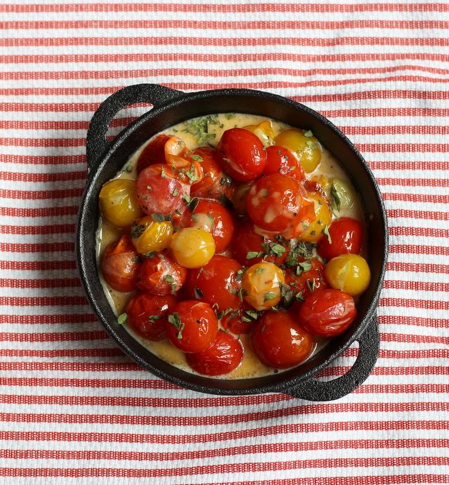 Cherry Tomatoes in Cream