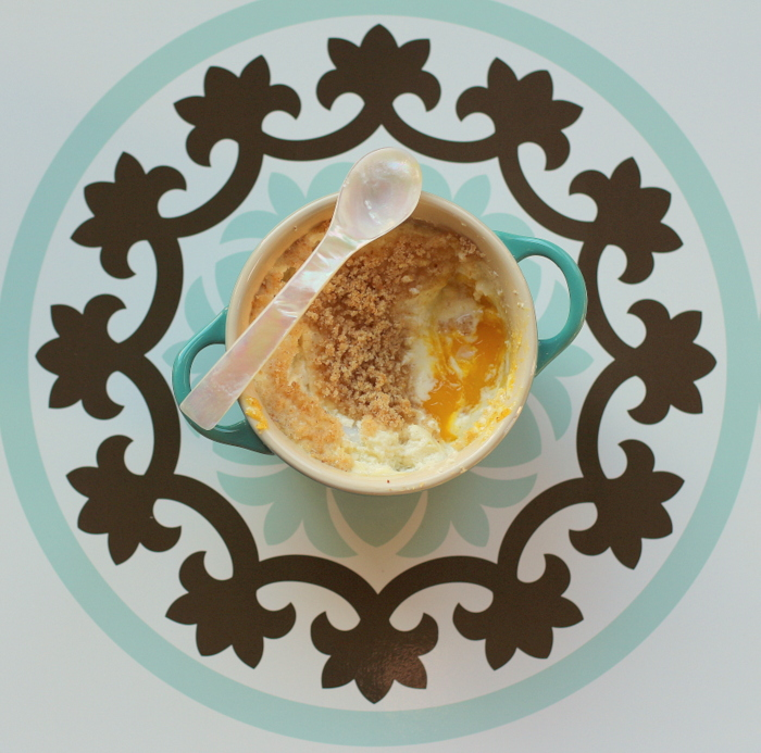 Baked French Cream Eggs