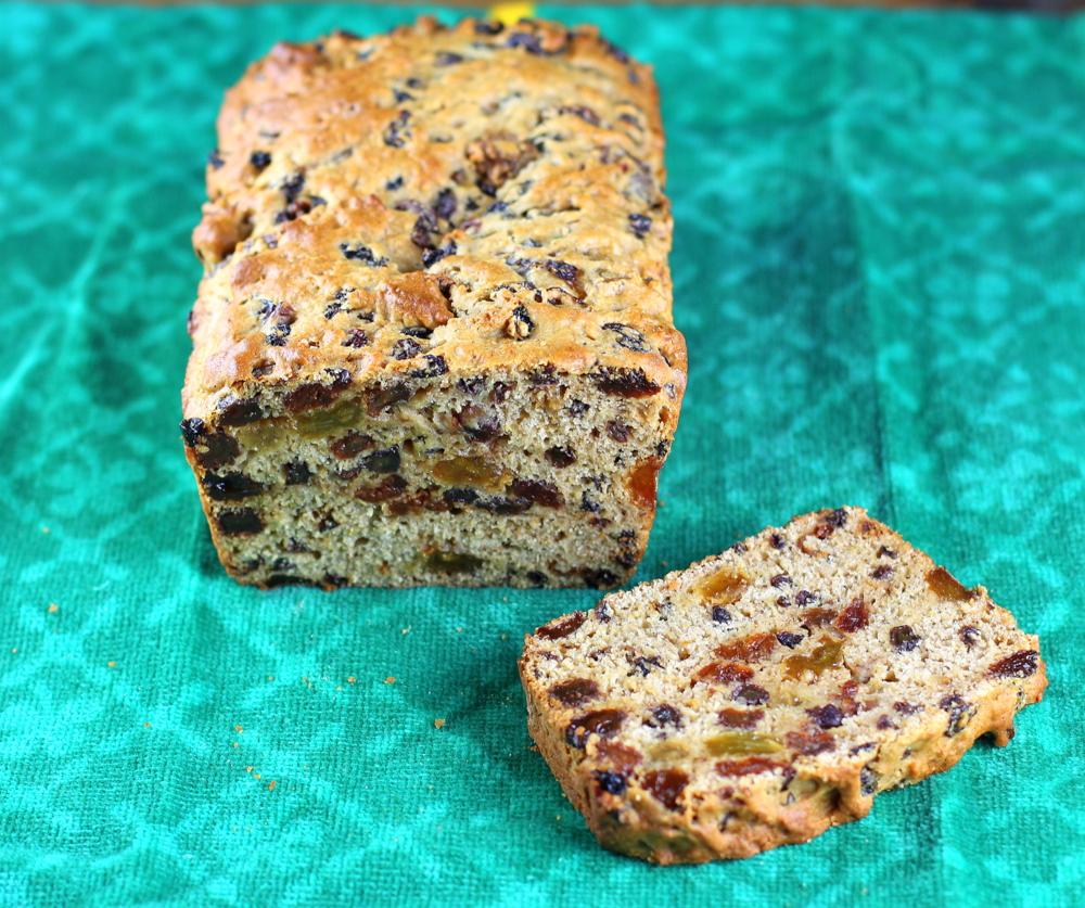 Irish Barmbrack (Fruit and Tea Loaf)