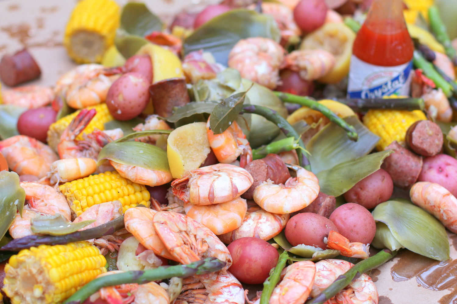 Beer Shrimp Boil