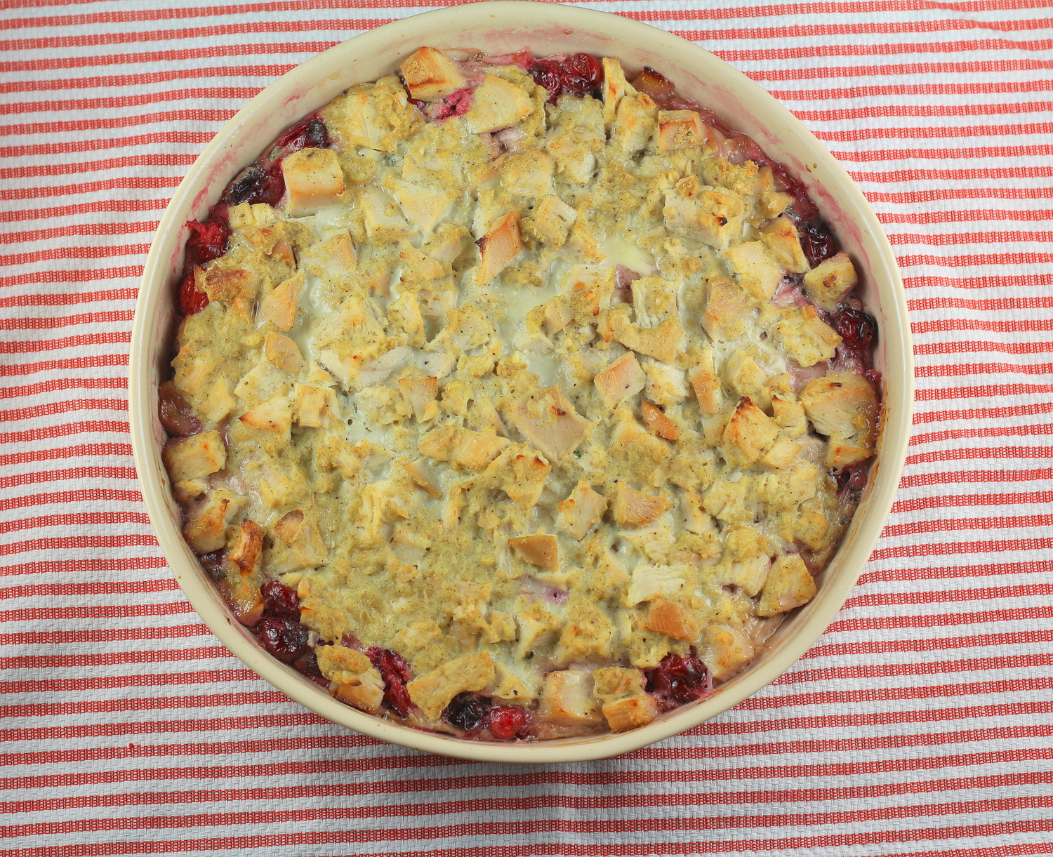 Cranberry Turkey Casserole
