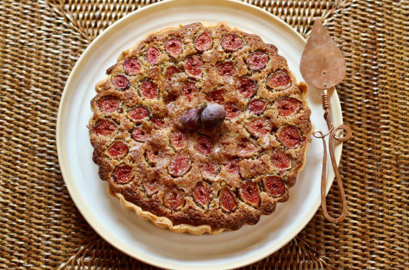 Fig, Brown Butter and Hazelnut Tart